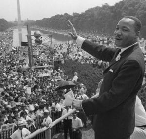 Martin Luther King Speech - Oral Evidence
